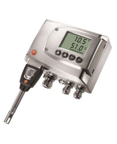 testo 6681 - Temperature/humidity transmitter for critical applications