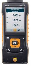 testo 440 dP - Air velocity and IAQ measuring instrument including differential pressure sensor Multi Function Air Flow Meter