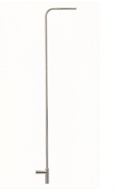 Pitot tube, length 1000 mm, stainless steel, for measuring flow velocity