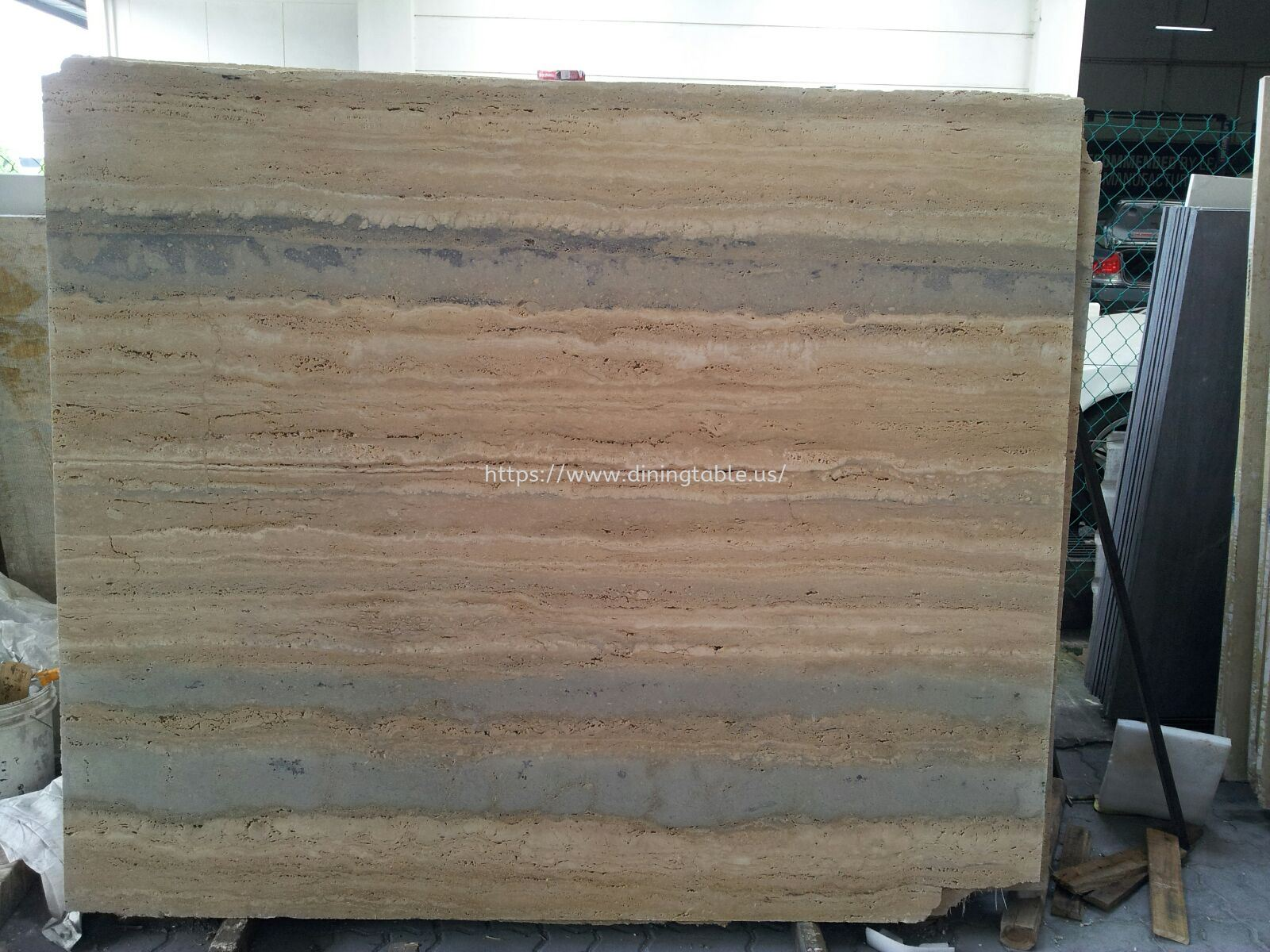 Roma Travertine - Blue Vein - Italy