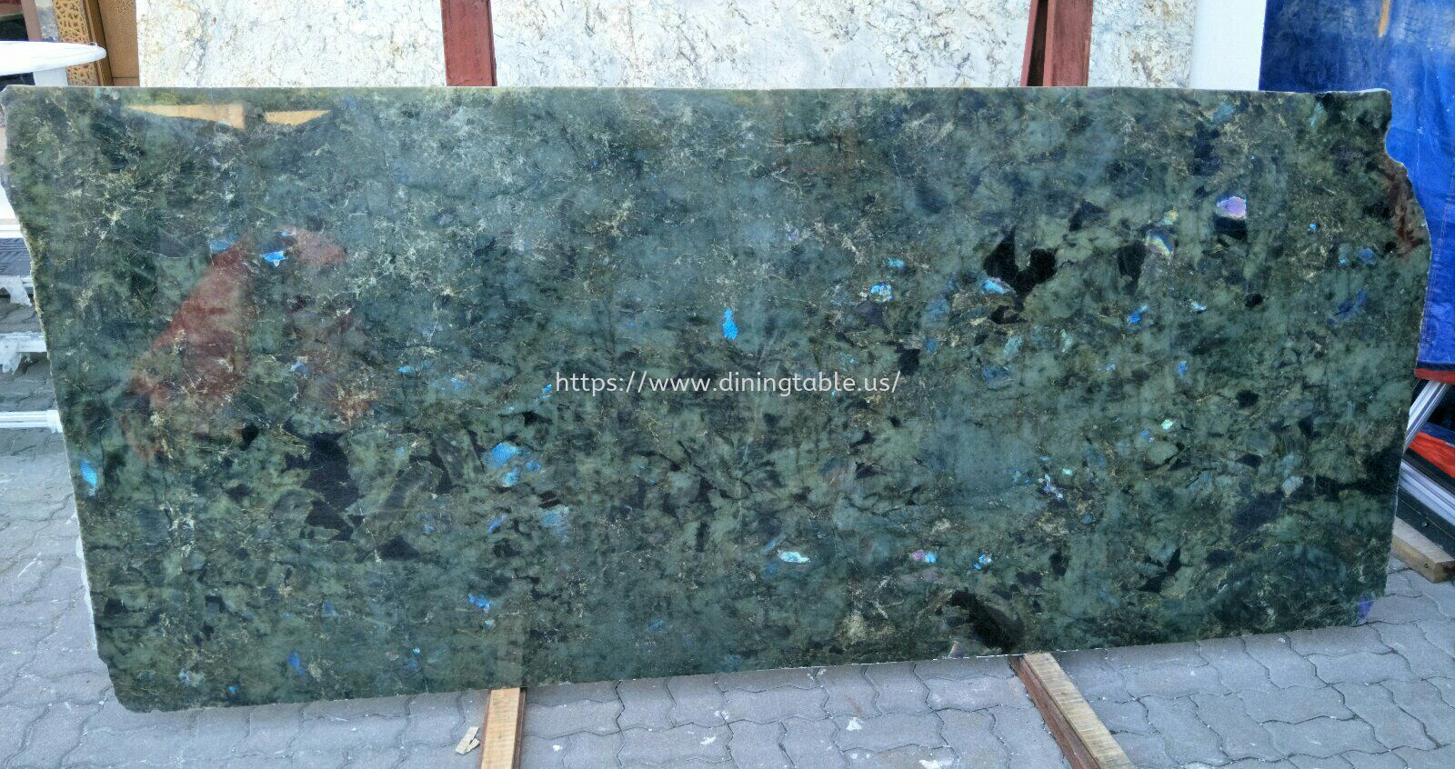 Blue Jade Granite - Brazil