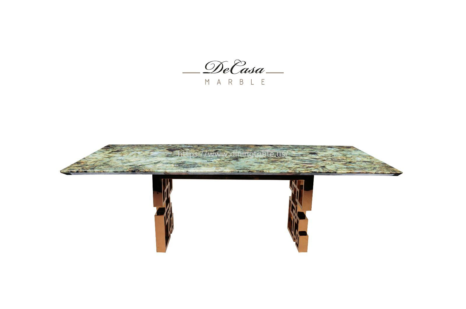 Green Granite Dining Table