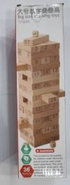 WOODEN BLOCK JENGGA TOY Games / Others Games