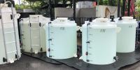 DCM Model Series Natural White  PE Conical Top with Manhole DCM Series Type 1 And 2 PE Rotational Molded Storage Tank
