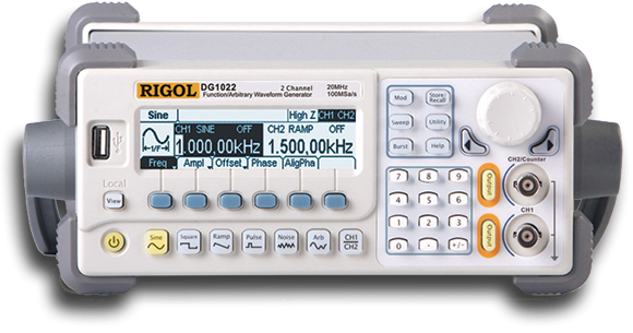 DG1000 Series Arbitrary Waveform Function Generator