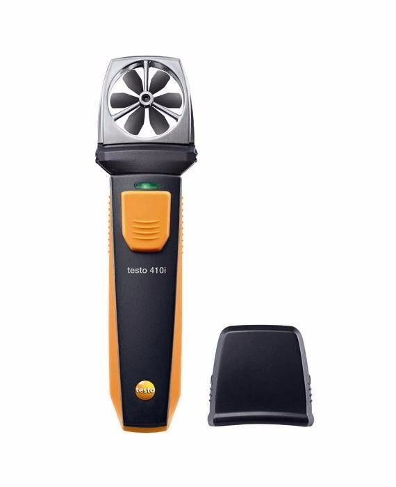 Testo 410i Vane Anemometer with Smartphone Operation