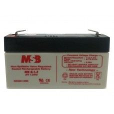 MSB MS6-1.3 Lead Acid Battery