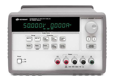 200W Power Supply, 8V, 20A or 20V, 10A, E3633A