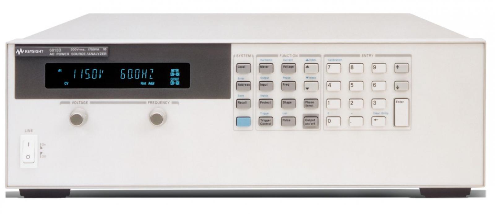 Performance AC Power Source, 750VA, 300V, 6.5A, 6812B