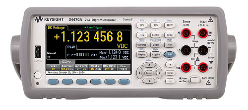 Digital Multimeter 7.5 Digit, 34470A