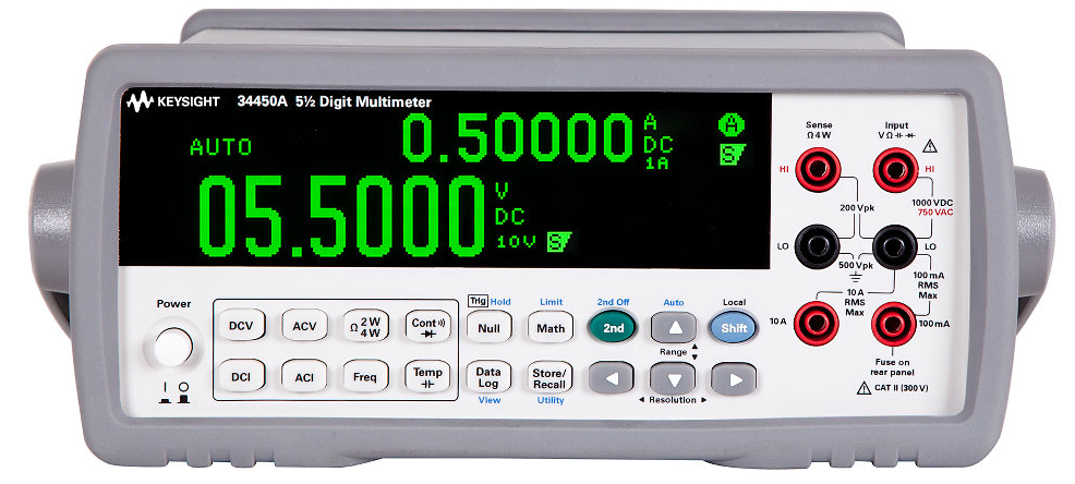 Digital Multimeter 5.5 Digit, 34450A