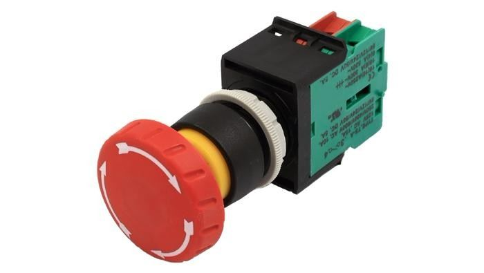 ECS-E1(M1) Mushroom Type Emergency Stop Switch
