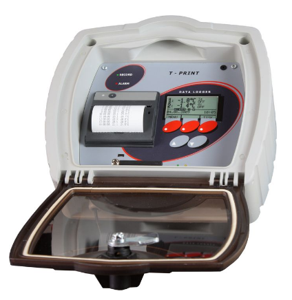 T-PRINT - temperature recorder for semi-trailer with built-in GSM modem