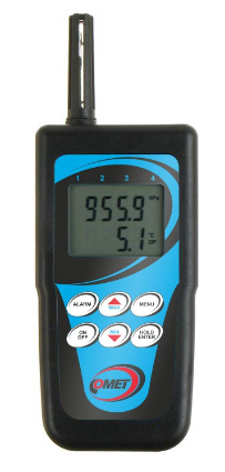 Comet C3633 Thermometer-hygrometer with magnetic temperature probe for measuring surface temperatures