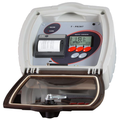 Comet T-PRINT - temperature recorder with printer for semi-trailer