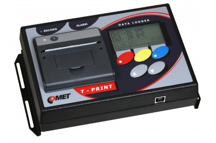 T-PRINT G0221E temperature recorder with printer