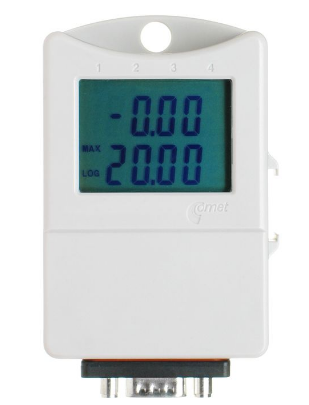 Dual channel 0-20mA current datalogger with display AllCometData Loggers