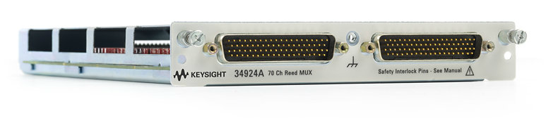 KEYSIGHT 70-Channel Reed Multiplexer for 34980A, 34924A