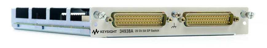 KEYSIGHT 20-Channel 5A Form A Switch for 34980A, 34938A