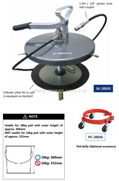 Economical Air Operated Grease Pump (SK-20EXS)