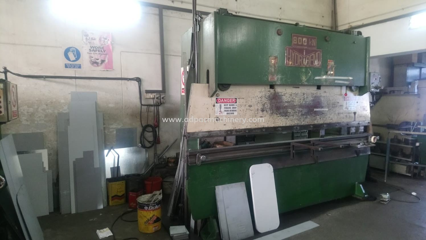 "Used ""Hydrabend"" Hydraulic Pressbrake / Bending Machine"