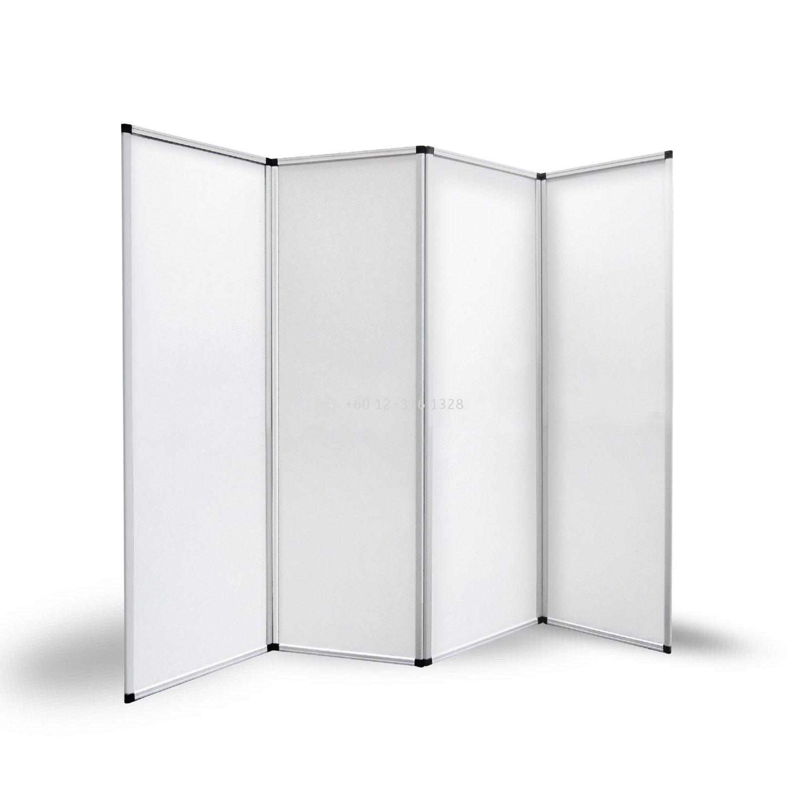 4 panel Folding display 60x180cm (4PFW)