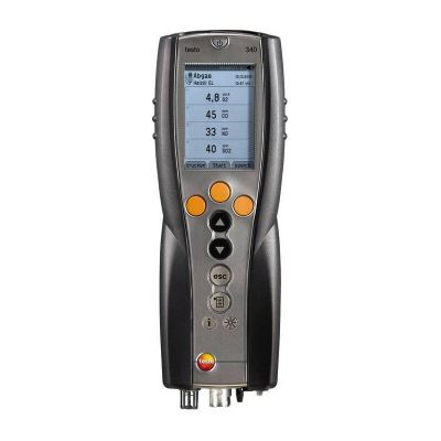 Testo 340 - Flue Gas Analyzer for Use in Industry [SKU 0632 3340]