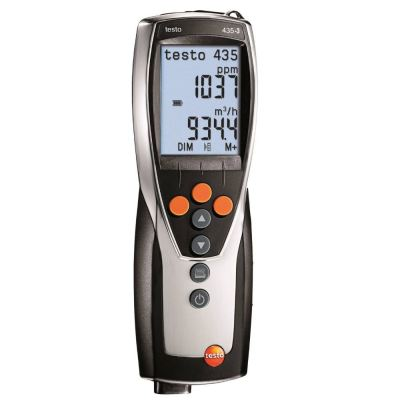 Testo 435-3 - Multi-Function Climate Measuring Instrument [SKU 0560 4353]