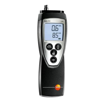 Testo 512 - Differential Pressure Measuring Instrument for 0 to 2000 hPa [Delivery: 3-5 days subject to availability]