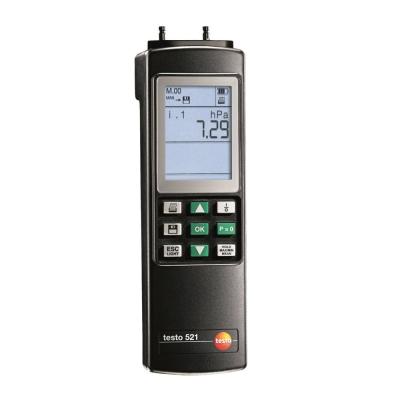 Testo 521-2 - Differential Pressure Measuring Instrument (0.1 % of f.v.) [SKU 0560 5211]