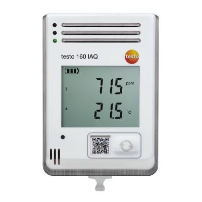 Testo 160 IAQ - Display and Integrated Sensors for Temperature, Humidity, CO2 & Atmospheric Pressure [Delivery: 3-5 days subject to availability]