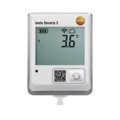 Testo Saveris 2-T1 | WiFi Data Logger with Display and Integrated NTC Temperature Probe [Delivery: 3-5 days]