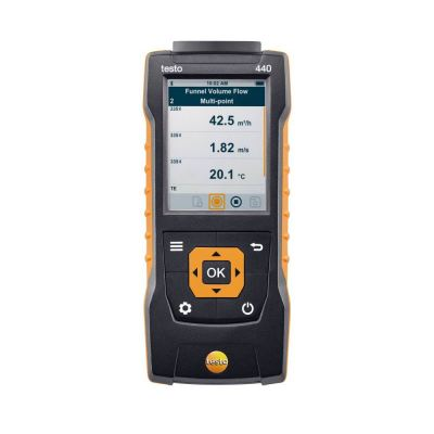 testo 440 | Air Velocity and IAQ Measuring Instrument [SKU 0560 4401]