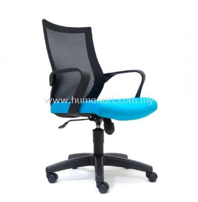 OWER 2 MEDIUM BACK ERGONOMIC MESH CHAIR WITH PP BASE ASE 2826