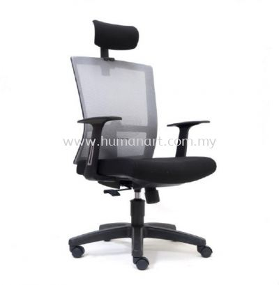 EXOTIC 2 HIGH BACK ERGONOMIC MESH CHAIR WITH POLYPROPYLENE BASE