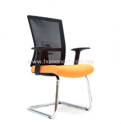 EXOTIC 1 VISITOR ERGONOMIC MESH CHAIR WITH CHROME CANTILEVER BASE