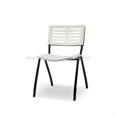 AEXIS-3 POLYPROPYLENE CHAIR C/W SQUARE METAL BASE ACL 68