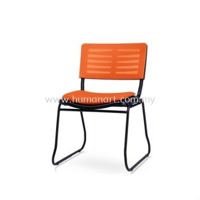AEXIS-3 MESH CHAIR W/O ARMREST & SQUARE METAL BASE ACL 68 SUF-SB
