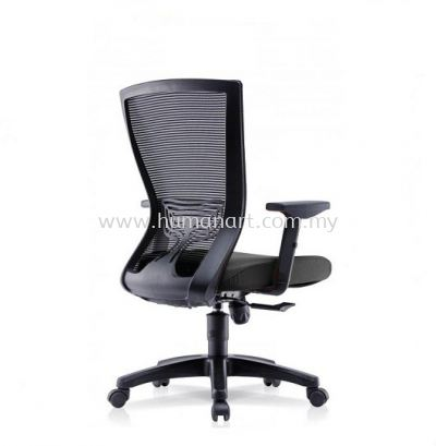 EGOMIC-2 MEDIUM BACK ERGONOMIC MESH CHAIR WITH ADJUSTABLE ARMREST