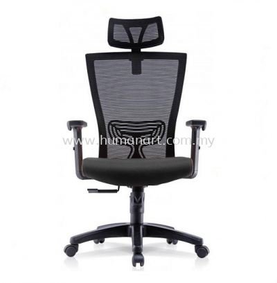 EGOMIC-2 HIGH BACK ERGONOMIC MESH CHAIR WITH ADJUSTABLE ARMREST