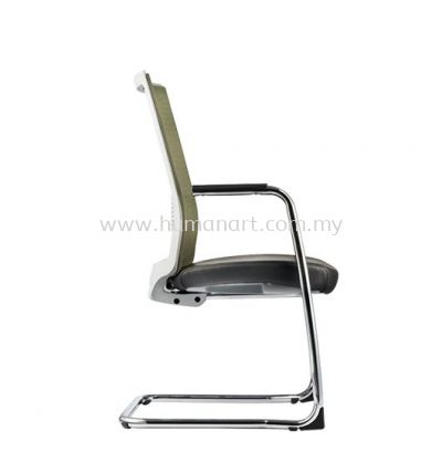 SURFACE VISITOR ERGONOMIC MESH CHAIR C/W CHROME CANTILEVER BASE ASF 8413L