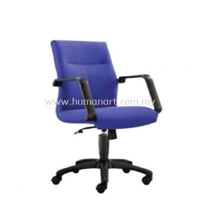 SEDAN STANDARD LOW BACK FABRIC CHAIR WITH POLYPROPYLENE BASE ASD 182F