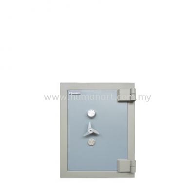 BANKER SAFE SS-AS65 SIZE TWO (2) BLUE GREY COLOUR
