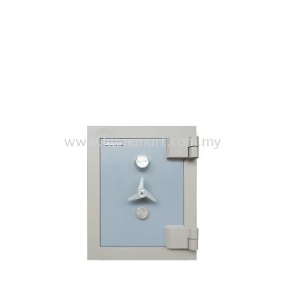 BANKER SAFETY BOX SS-AS65 SIZE ONE (1) BLUE GREY COLOUR - subang ss15 | subang jaya | chan sow lin