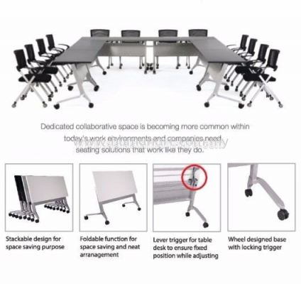 AEXIS FOLDING TABLE ( Specification ) - Bandar Botanic | Bandar Bukit Raja | Bandar Bukit Raja