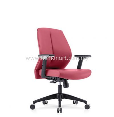 SENSE 1 EXECUTIVE LOW BACK LEATHER CHAIR WITH NYLON ROCKET BASE LB-C 05