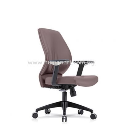 SENSE 3 EXECUTIVE LOW BACK LEATHER CHAIR WITH NYLON ROCKET BASE LB-C 05