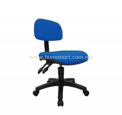 TY6 TYPIST CHAIR FABRIC W/O ARMREST AND POLYPROPYLENE BASE