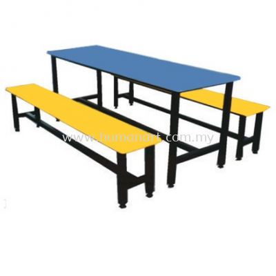 6-8 SEATER CANTEEN TABLE SET (REINFORCEMENT)