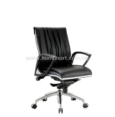 WONO DIRECTOR LOW BACK CHAIR C/W CHROME TRIMMING LINE ACL 2002
